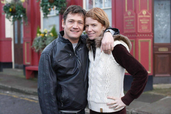 Patsy Palmer reunited with Sid Owen when she returned in 2008