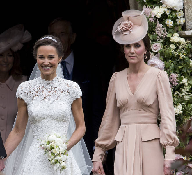 Pippa Middleton gave birth to a baby girl on Monday morning