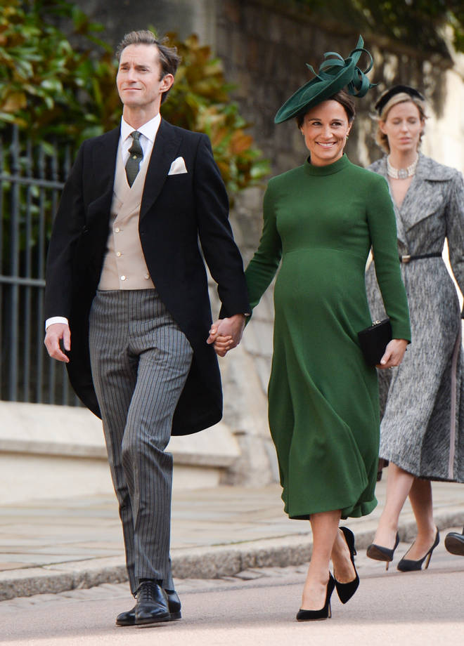 Pippa Middleton and James Matthews are already parents to two-year-old Arthur