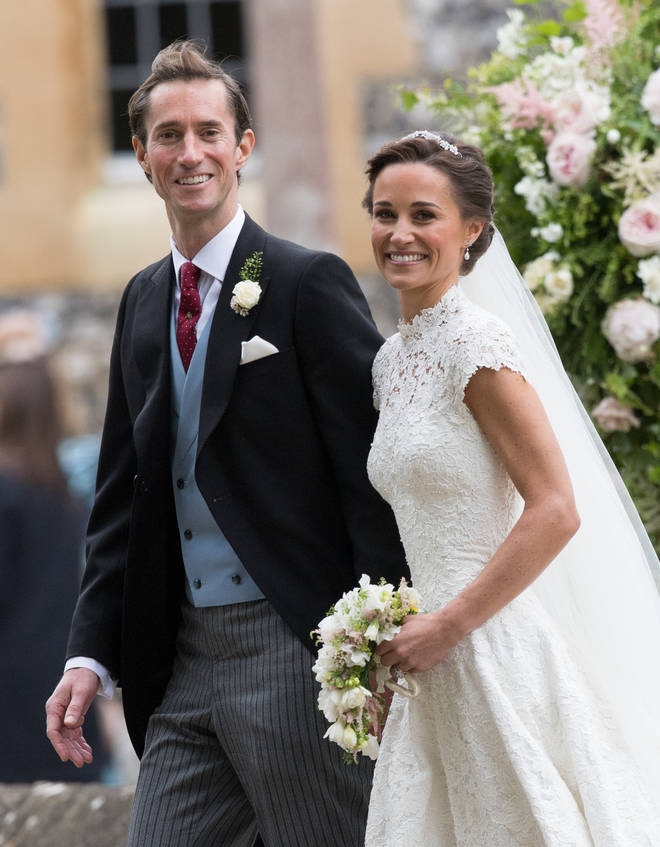James Matthews and Pippa Middleton wed back in 2017