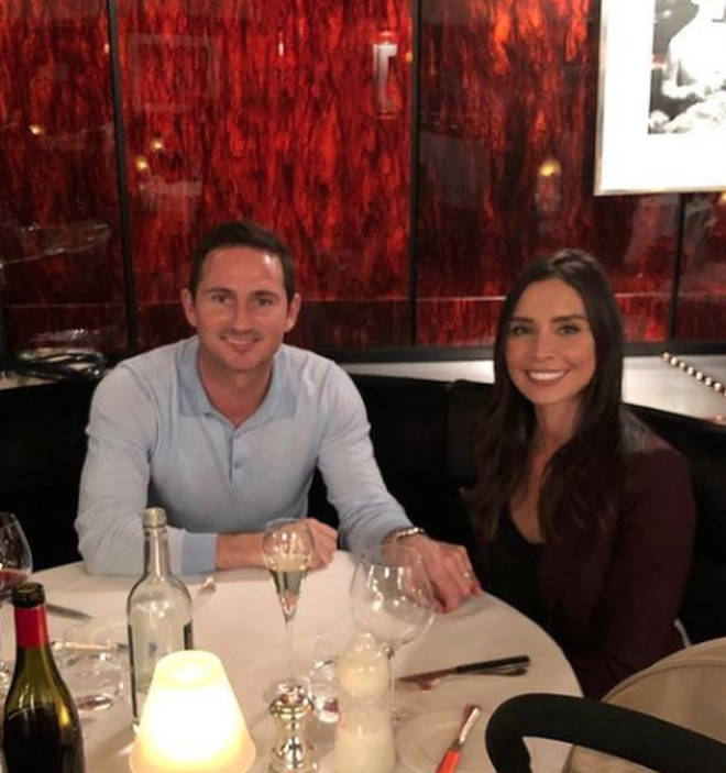 Christine and Frank Lampard have two children together