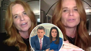 Patsy Palmer furiously hangs up on Good Morning Britain chat after being labelled 'an addict'
