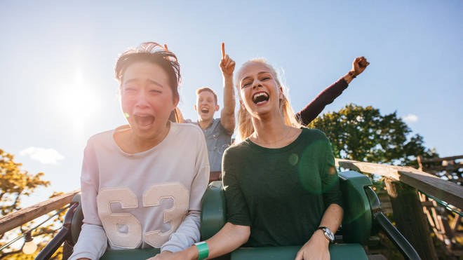 People will have to wear face masks on rollercoasters
