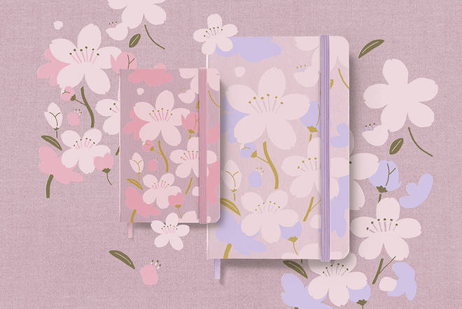 These gorgeous notebooks are perfect for some spring journalling