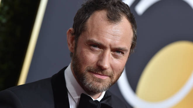 Jude Law has been cast as Captain Hook
