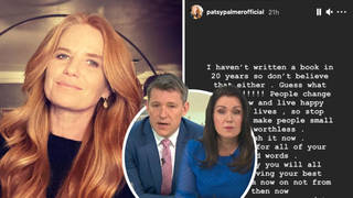 Patsy Palmer has addressed the moment she hung up on Good Morning Britain's Susanna Reid and Ben Shepherd