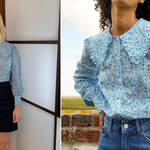 Holly Willoughby is wearing a shirt from Rixo