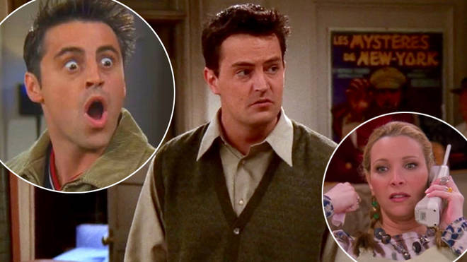 Chandler Bing has been voted the best Friends character