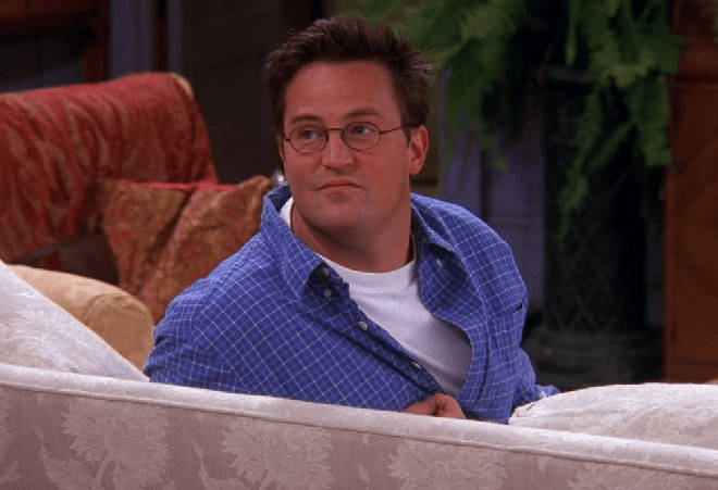 Chandler Bing was voted the most popular Friends character