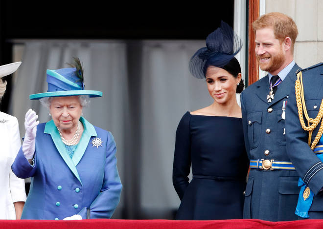 The Queen has reportedly said she will support Harry and Meghan