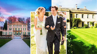 These are the most popular celebrity wedding venues