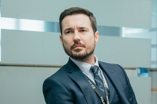 Line of Duty's Steve Arnott is played by Martin Compston