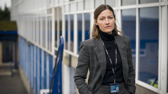 Kelly Macdonald plays DCI Joanne Davidson in Line of Duty