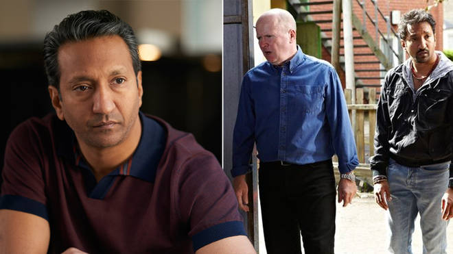 Phaldut Sharma plays Ram Sihdu in Unforgotten