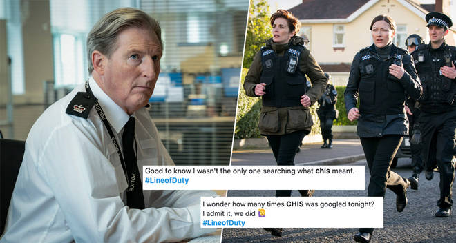Line of Duty season 6 viewers were confused by the word 'CHIS'