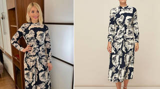 Holly Willoughby's dress is from Whistles