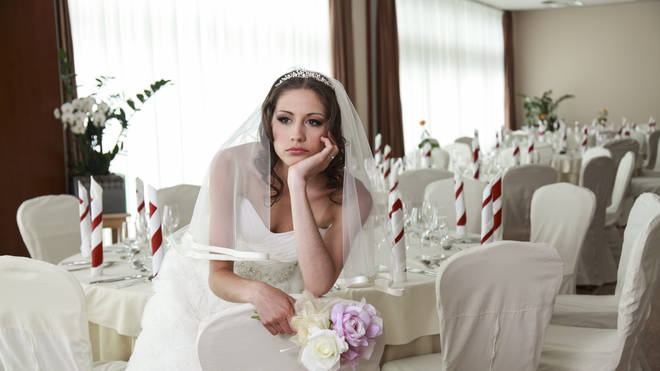 The bride was left upset by the incident (stock image)