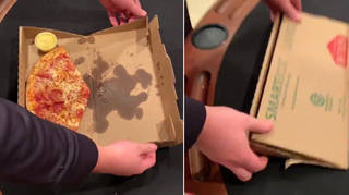 This TikTok pizza box folding hack will blow your mind
