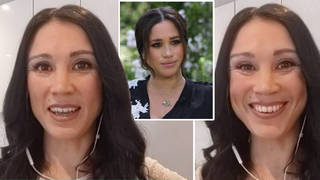 A Meghan Markle lookalike appeared on This Morning today