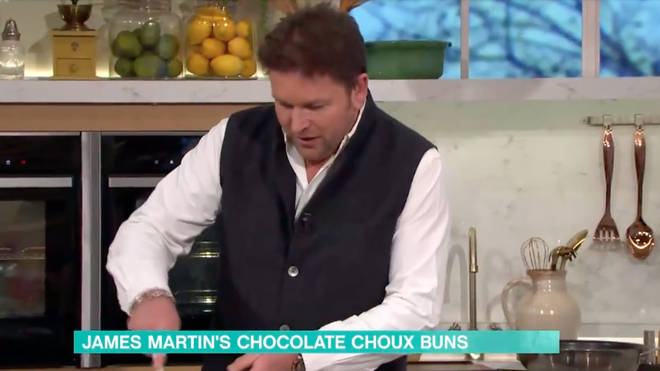 James Martin was not impressed on This Morning