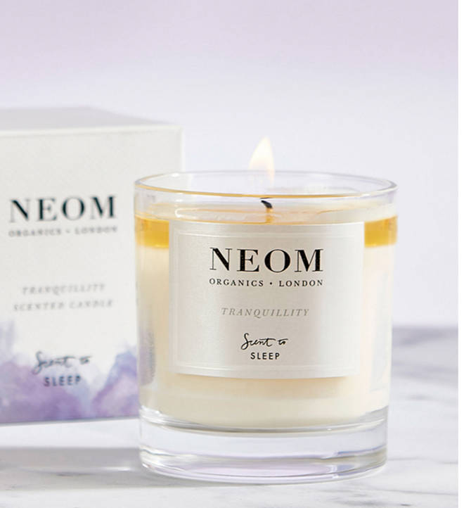 The Neom Tranquility™ fragrance is a complex blend of 19 of the purest possible essential oils including English lavender, sweet basil and jasmine