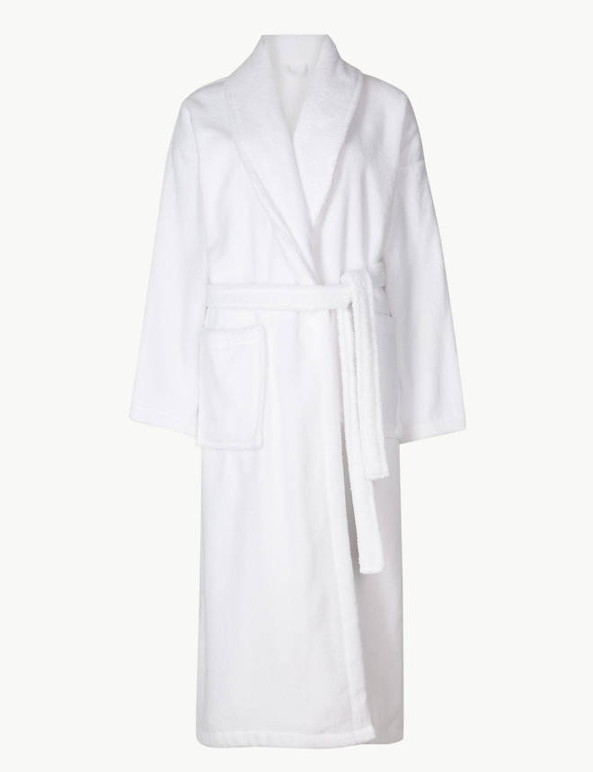 This dressing gown is so sumptuous