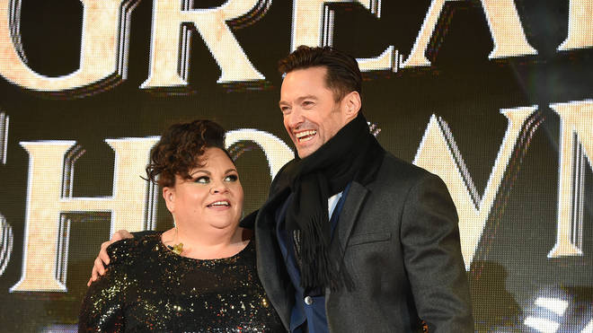 Hugh Jackman has praised Keala Settle's performance