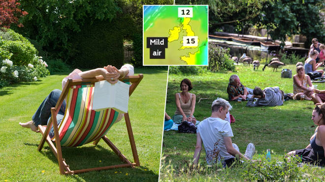 The weather is set to heat up over Easter