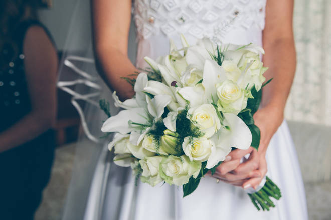Weddings can take place with 15 guests from April 12 (stock images)