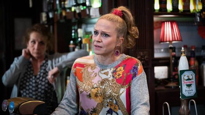 Kellie Bright plays Linda Carter in EastEnders