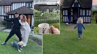 Stacey Solomon has shared pictures of her new home