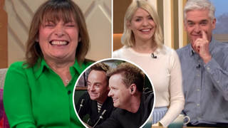 Lorraine Kelly and Holly and Phil hint Ant and Dec were behind 'odd' behaviour