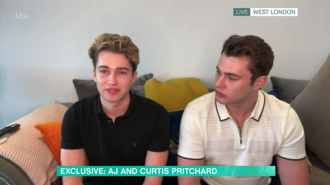 Curtis and AJ opened up about the accident on This Morning