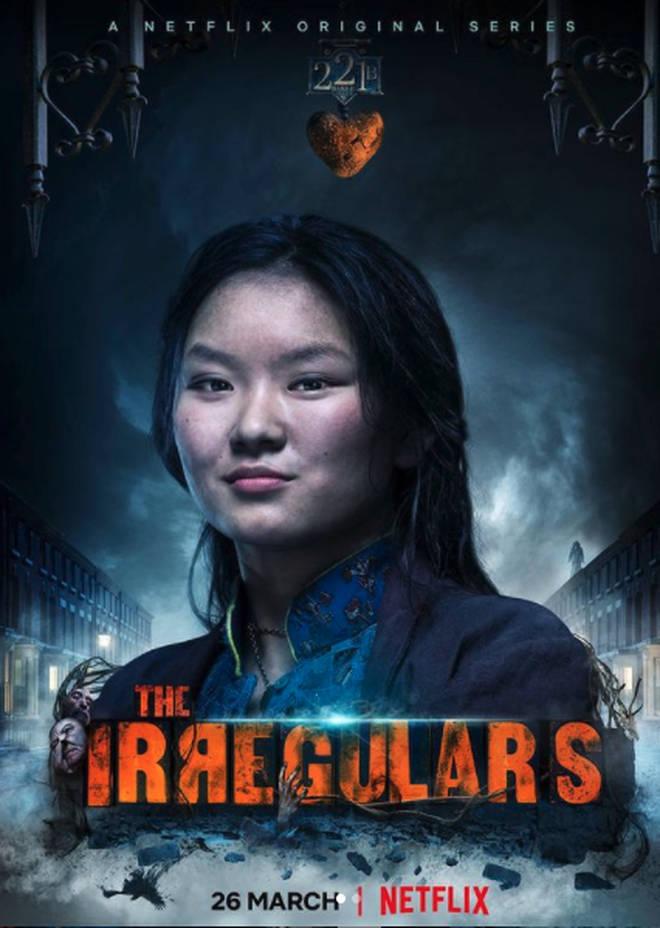 Thaddea Graham plays Bea in The Irregulars