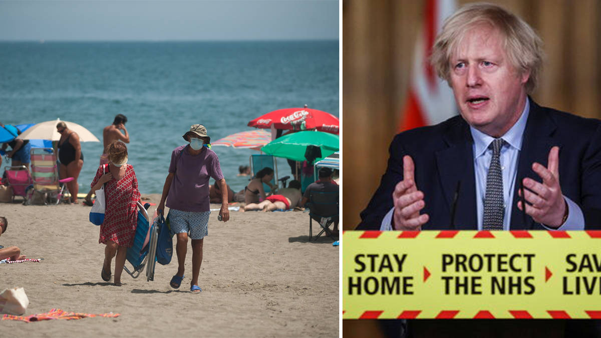 Boris Johnson promises travel update 'in a few days' but warns it's too early to book holidays abroad