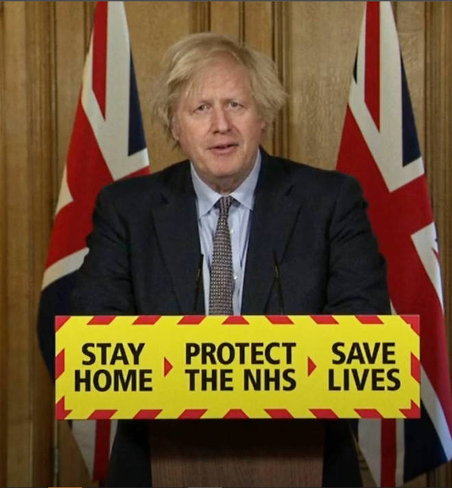 Boris Johnson led the press conference yesterday evening