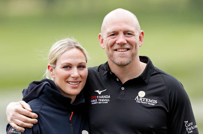 Mike and Zara Tindall have named their newborn Lucas Philip Tindall