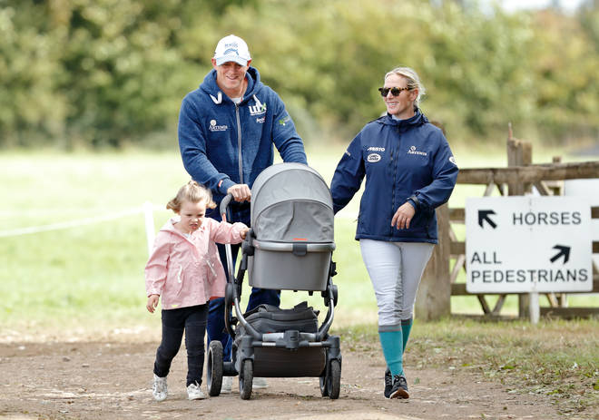 Zara and Mike Tindall are already parents to two daughters