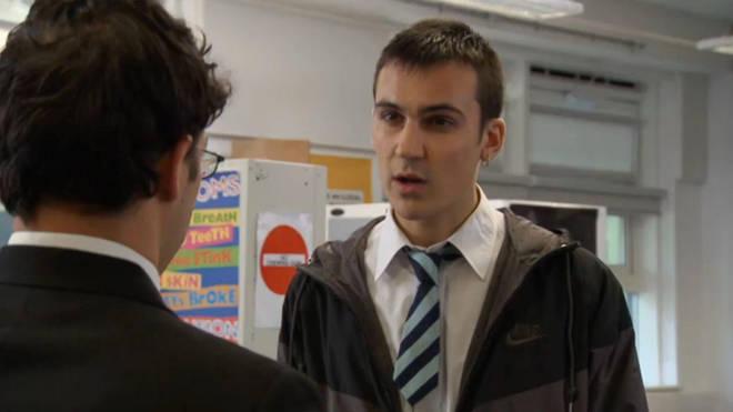 Henry played school bully Mark Donovan in The Inbetweeners