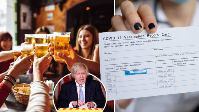 People could be refused entry into pubs if they have not received the Covid-19 vaccine