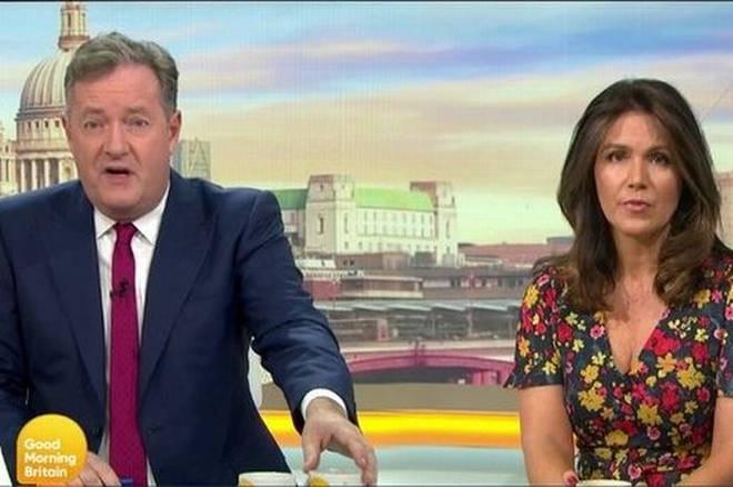 Piers Morgan appeared alongside Susanna Reid on GMB for five years