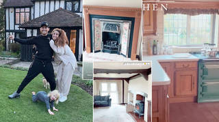 Stacey Solomon has shown off 'Pickle Cottage' on Instagram