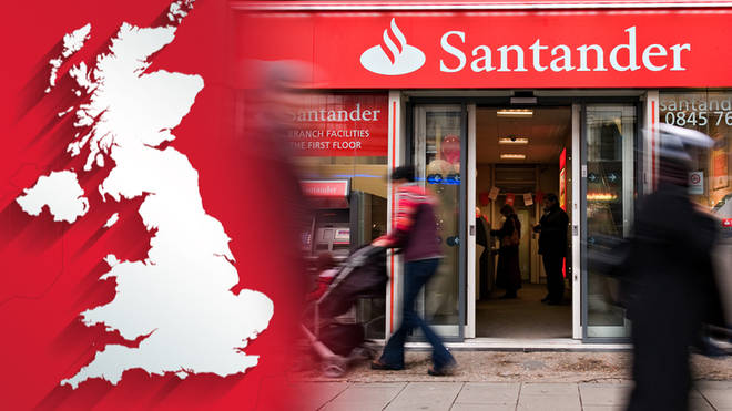 Santander have announced the closure of 111 branches