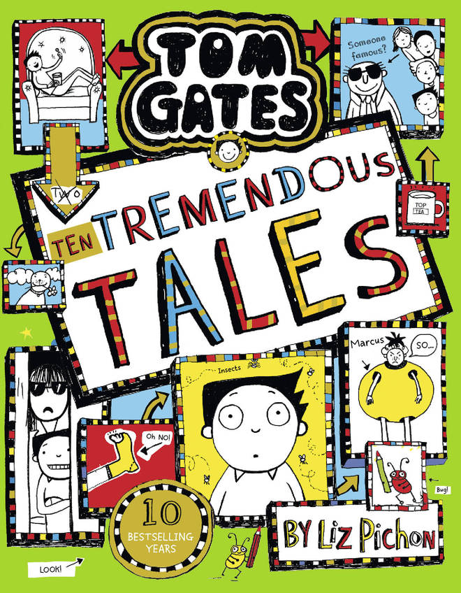 Ten Tremendous Tales is the latest book in the Tom Gates series