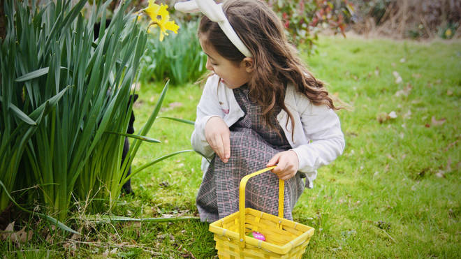 Give your little one clues as to where the next egg is