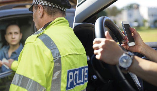 Drivers caught touching their phone while driving will be slapped with a huge fine