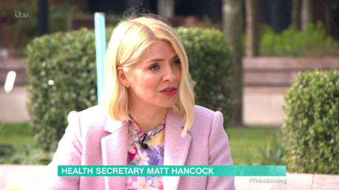 Holly Willoughby questioned if people needed to remain local