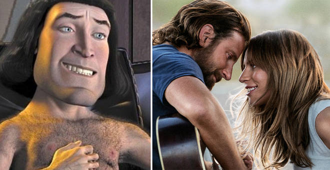 Shrek and A Star is Born are among the films hitting Netflix in April