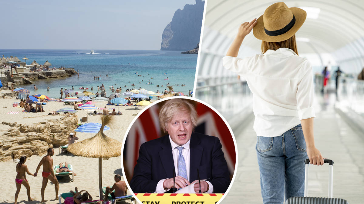 Brits may have to wait weeks yet to find out if they can book holidays abroad