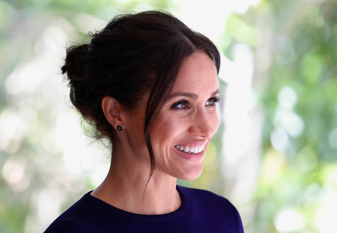 Meghan Markle during her royal tour